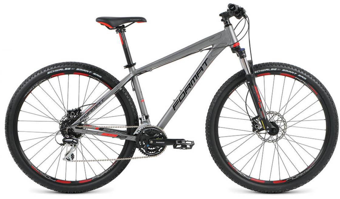 Велосипед горный Format 9912 (2016), цвет: серый, рама 20, колесо 29260762