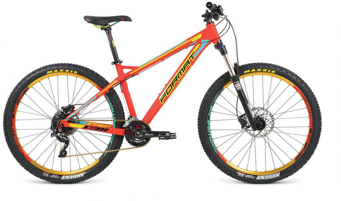 Велосипед горный Format 1311 Elite (2016), цвет: красный, рама 18, колесо 27,5260763