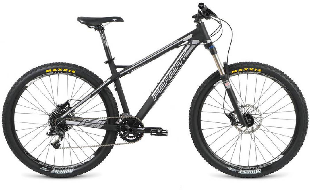Велосипед горный Format 1311 (2016), цвет: черный, рама 16, колесо 27,5260767