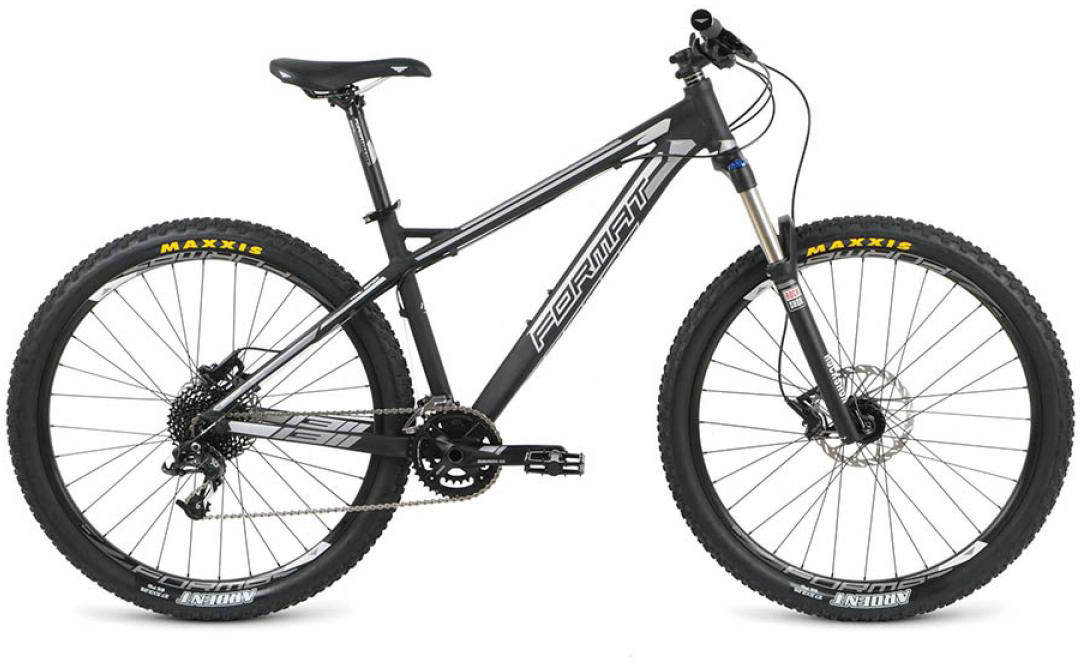 Велосипед горный Format 1311 (2016), цвет: черный, рама 22, колесо 27,5260770