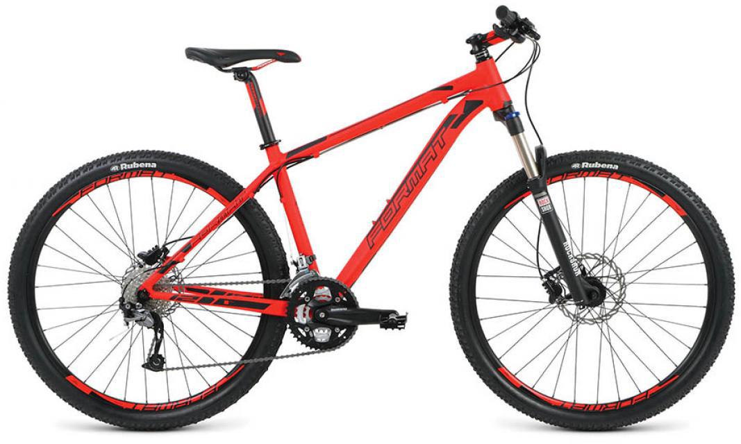 Велосипед горный Format 1214 (2016), цвет: красный, рама 16, колесо 27,5260780