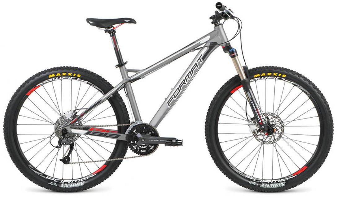 Велосипед горный Format 1313 (2016), цвет: серый, рама 18, колесо 27,5260781