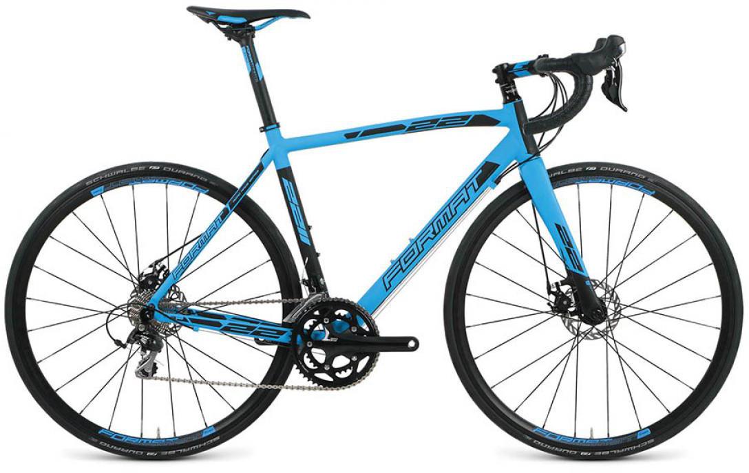 Велосипед шоссейный Format 2211 (2016), цвет: синий, рама 21, колесо 28260791