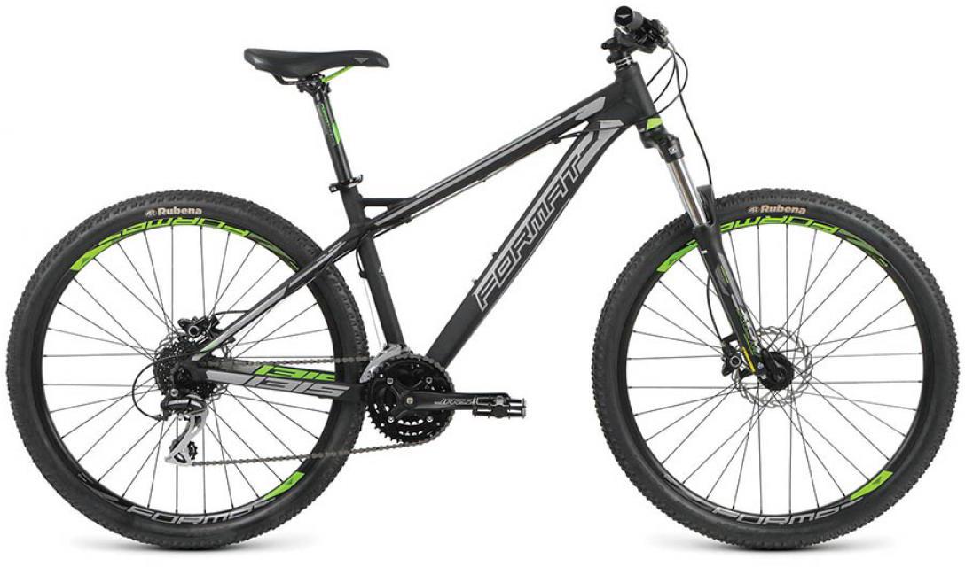 Велосипед горный Format 1315 (2016), цвет: черный, рама 22, колесо 27,5260796
