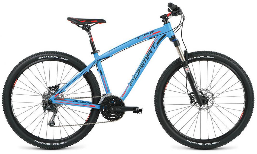 Велосипед горный Format 7741 Elite (2016), цвет: голубой, рама 18, колесо 27,5260804