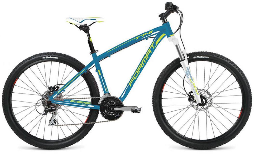 Велосипед горный Format 7741 (2016), цвет: синий, рама 16, колесо 27,5260805