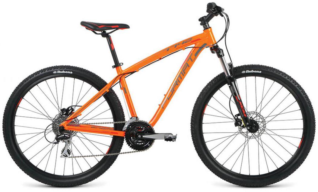 Велосипед горный Format 7742 (2016), цвет: оранжевый, рама 18, колесо 27,5260809