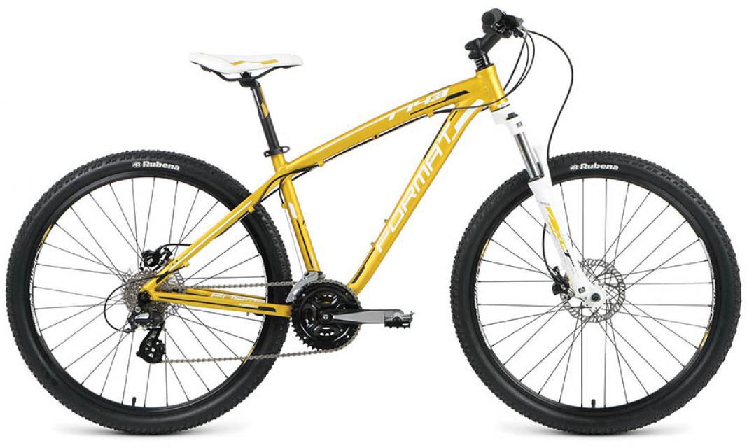 Велосипед горный Format 7743 (2016), цвет: зеленый, рама 16, колесо 27,5260810