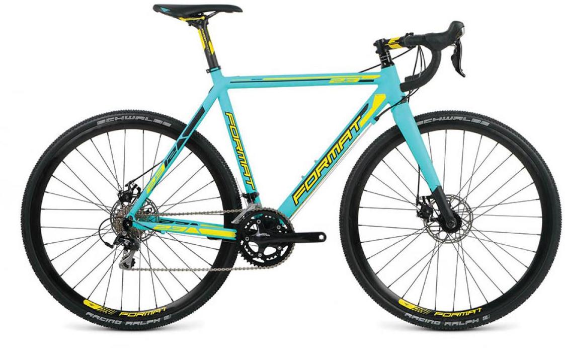 Велосипед шоссейный Format 2312 (2016), цвет: голубой, рама 23, колесо 28260813