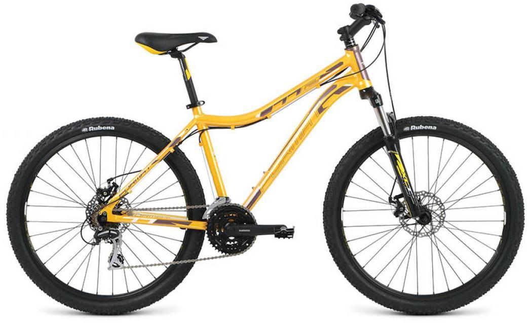 Велосипед горный Format 7712 (2016), цвет: желтый, рама 16, колесо 26260815