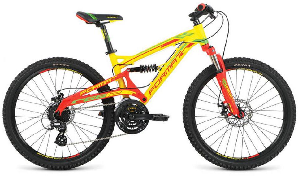 Велосипед детский Format 6612 Boy (2016), цвет: желтый, колесо 24260825