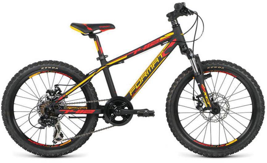 Велосипед детский Format 7412 Boy (2016), цвет: черный, колесо 20260831
