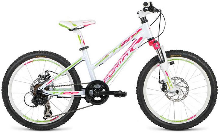 Велосипед детский Format 7422 Girl (2016), цвет: белый, колесо 20260833