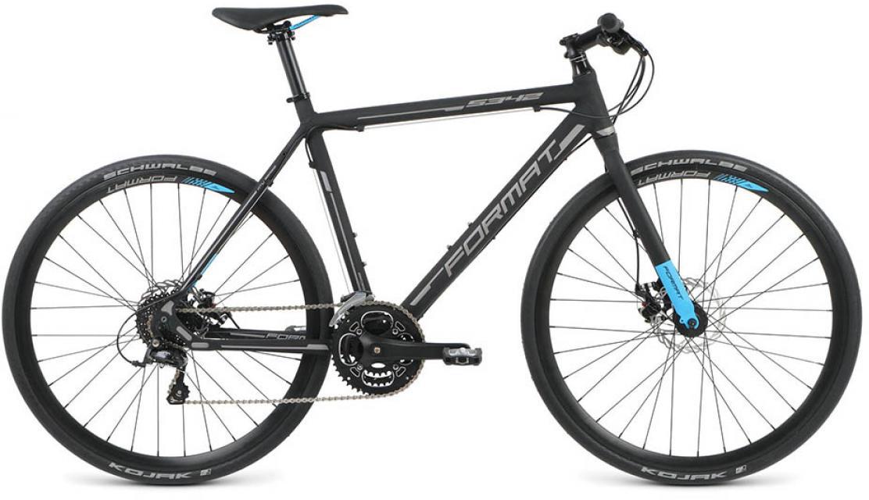 Велосипед городской Format 5342 (2016), цвет: черный, рама 21, колесо 28260839