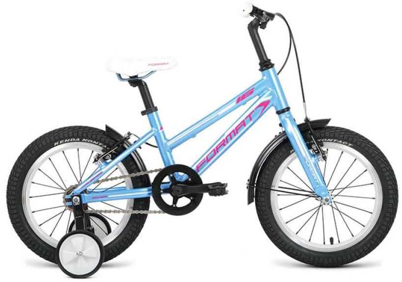 Велосипед детский Format Girl (2016), цвет: голубой, колесо 16260842