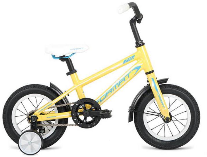 Велосипед детский Format Girl (2016), цвет: желтый, колесо 12260848