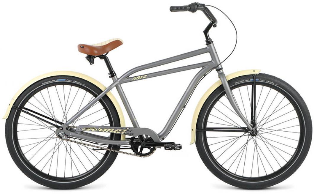 Велосипед городской Format 5512 (2016), цвет: серый, колесо 26 велосипед format 5512 2016