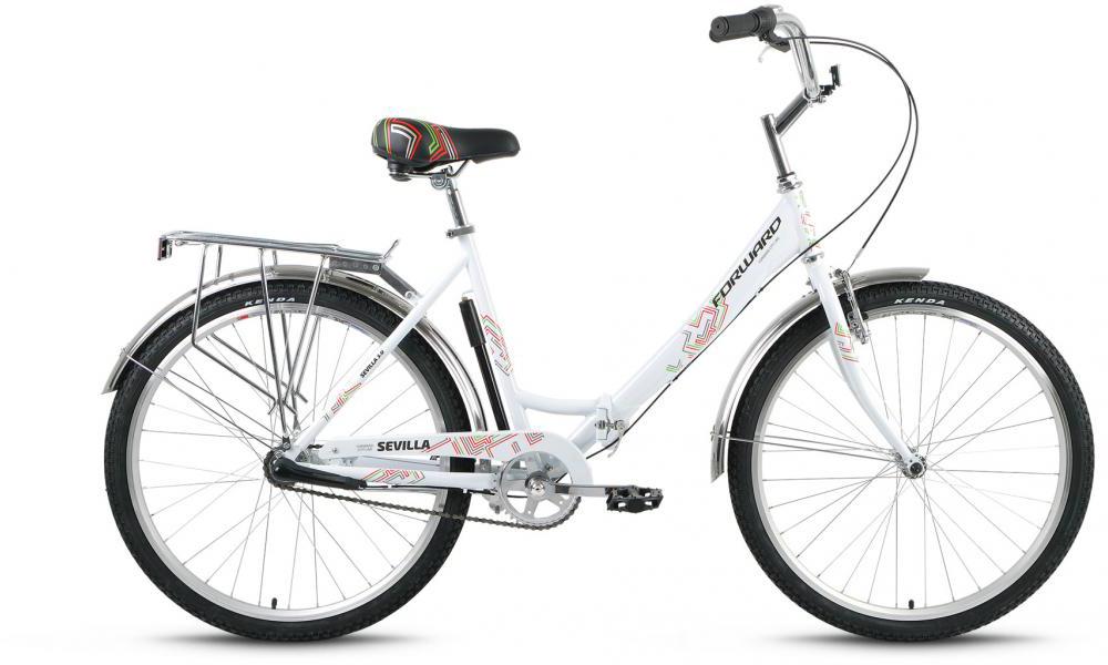 Велосипед складной Forward Sevilla 3.0 2016, цвет: белый, рама 18,5, колесо 26275103