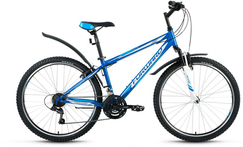 Велосипед горный Forward Sporting 1.0 2016, цвет: синий, рама 17, колесо 26275110