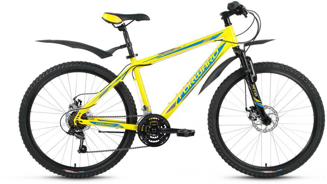 Велосипед горный Forward Sporting 2.0 2016, цвет: желтый, рама 15, колесо 26275116