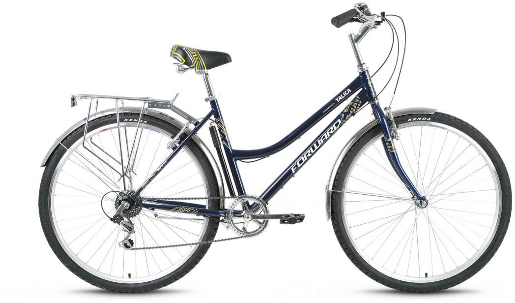 Велосипед городской Forward Talica 2.0 2016, цвет: синий, рама 19, колесо 28275127