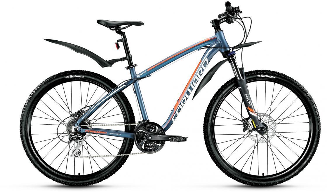 Велосипед горный Forward Agris 3.0 2016, цвет: синий, рама 19, колесо 27,5275140