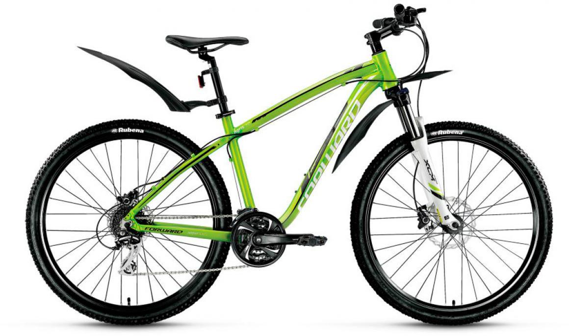 Велосипед горный Forward Agris 3.0 2016, цвет: зеленый, рама 17, колесо 26275142