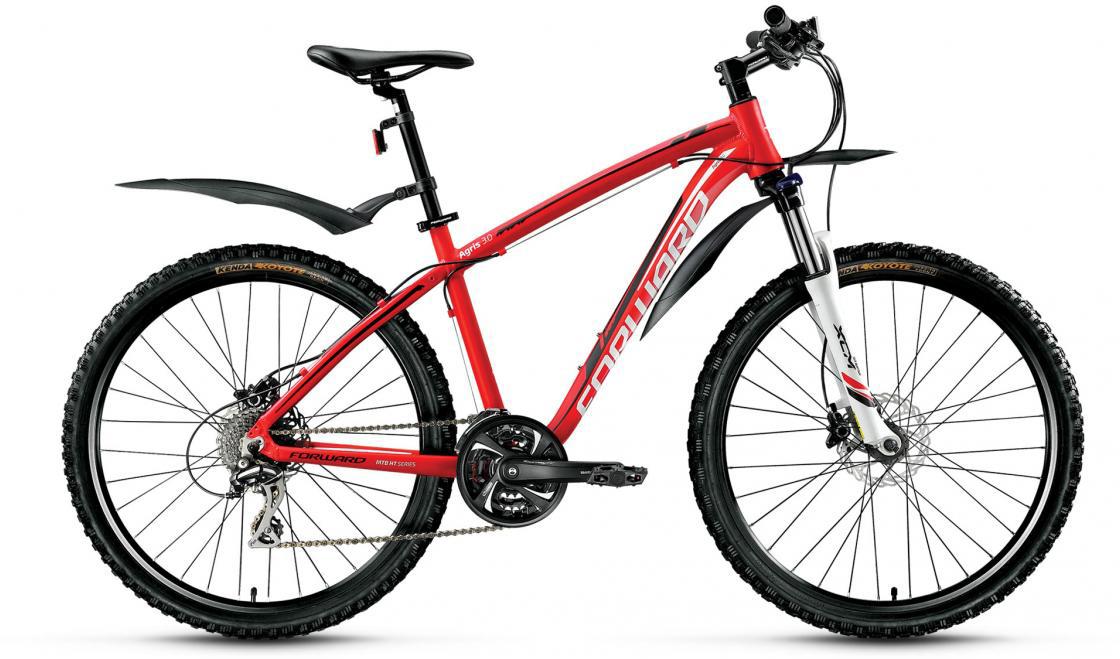 Велосипед горный Forward Agris 3.0 2016, цвет: красный, рама 19, колесо 26275143