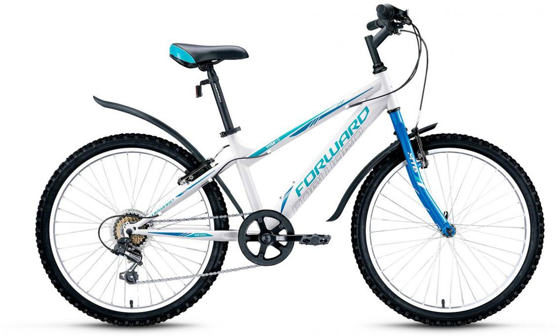 Велосипед детский Forward Titan 1.0 2016, цвет: белый, рама 14, колесо 24275150