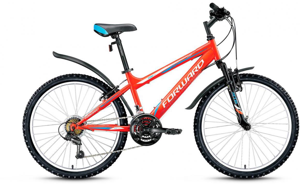 Велосипед детский Forward Titan 2.0 2016, цвет: оранжевый, рама 14, колесо 24275151