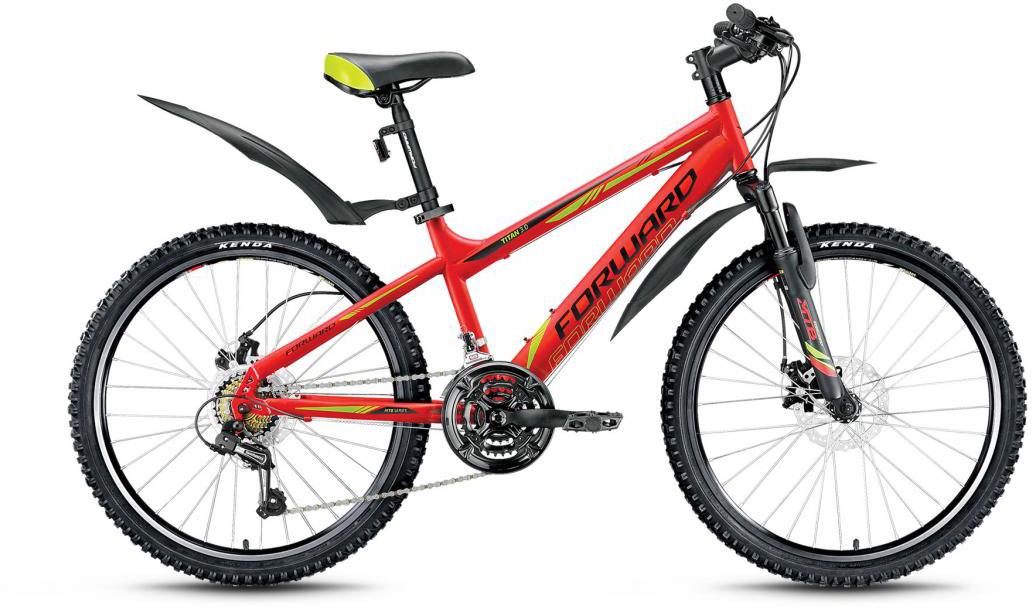 Велосипед детский Forward Titan 3.0 2016, цвет: красный, рама 14, колесо 24275157