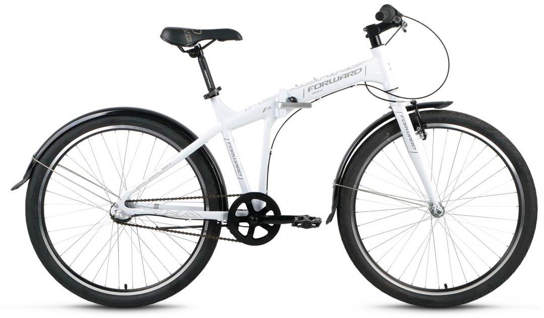 Велосипед складной Forward Tracer 3.0 2016, цвет: белый, рама 15, колесо 26275169