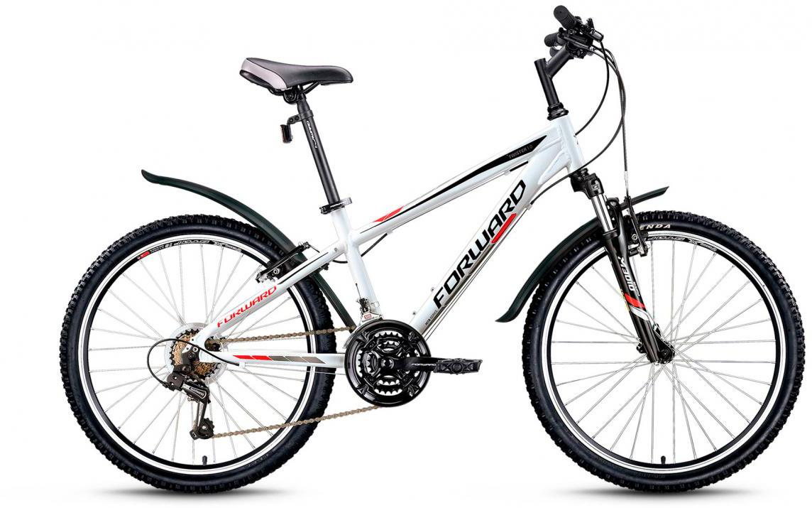 Велосипед детский Forward Twister 1.0 2016, цвет: белый, рама 14, колесо 24275172