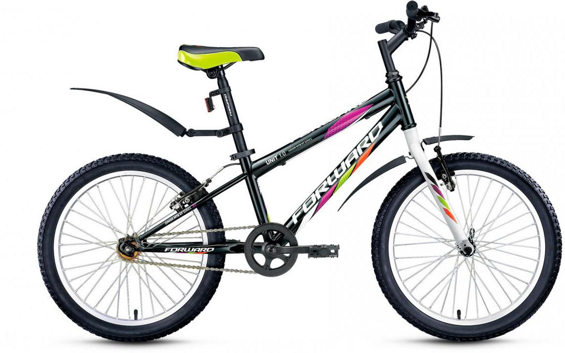 Велосипед детский Forward Unit 1.0 2016, цвет: черный, колесо 20275175