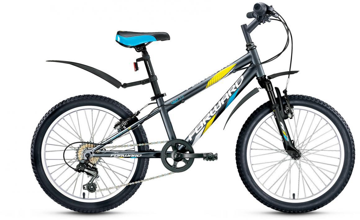 Велосипед детский Forward Unit 2.0 2016, цвет: серый, колесо 20275177