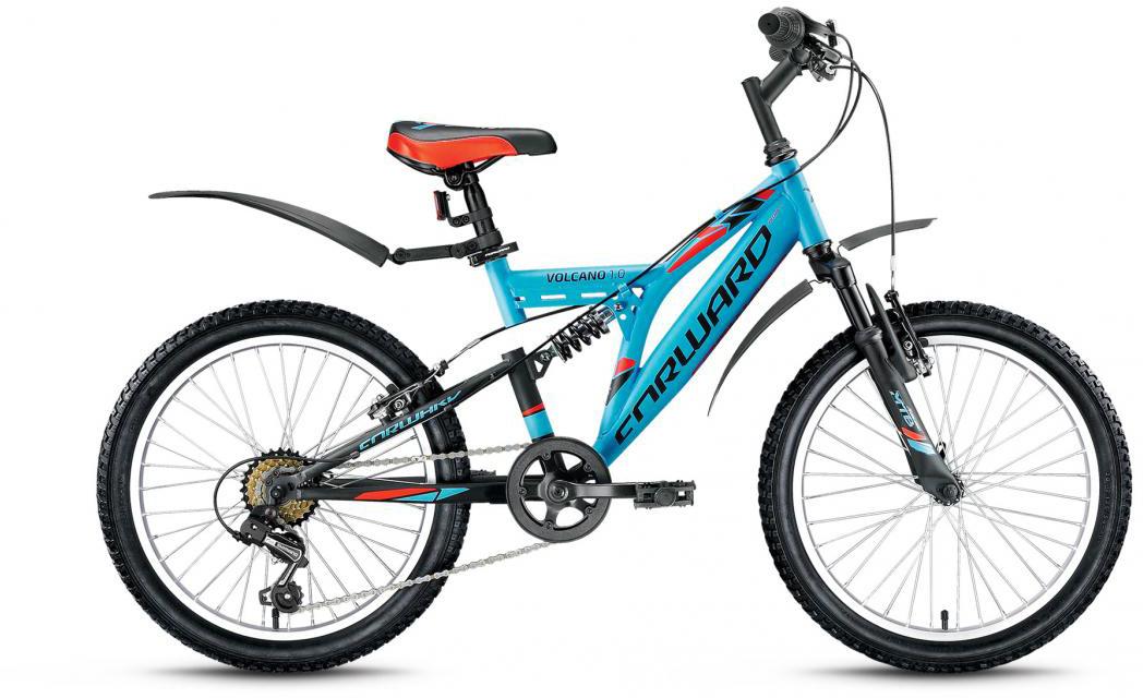 Велосипед детский Forward Volcano 1.0 2016, цвет: голубой, рама 13, колесо 20275186