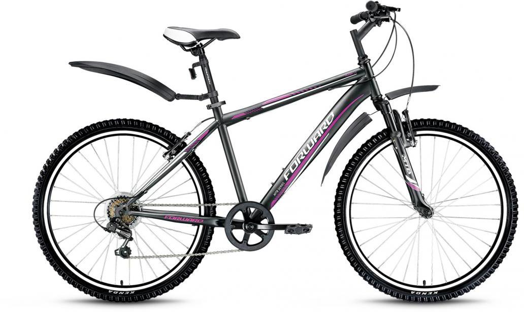 Велосипед горный Forward Flash 2.0 2016, цвет: черный, рама 17,5, колесо 26275242
