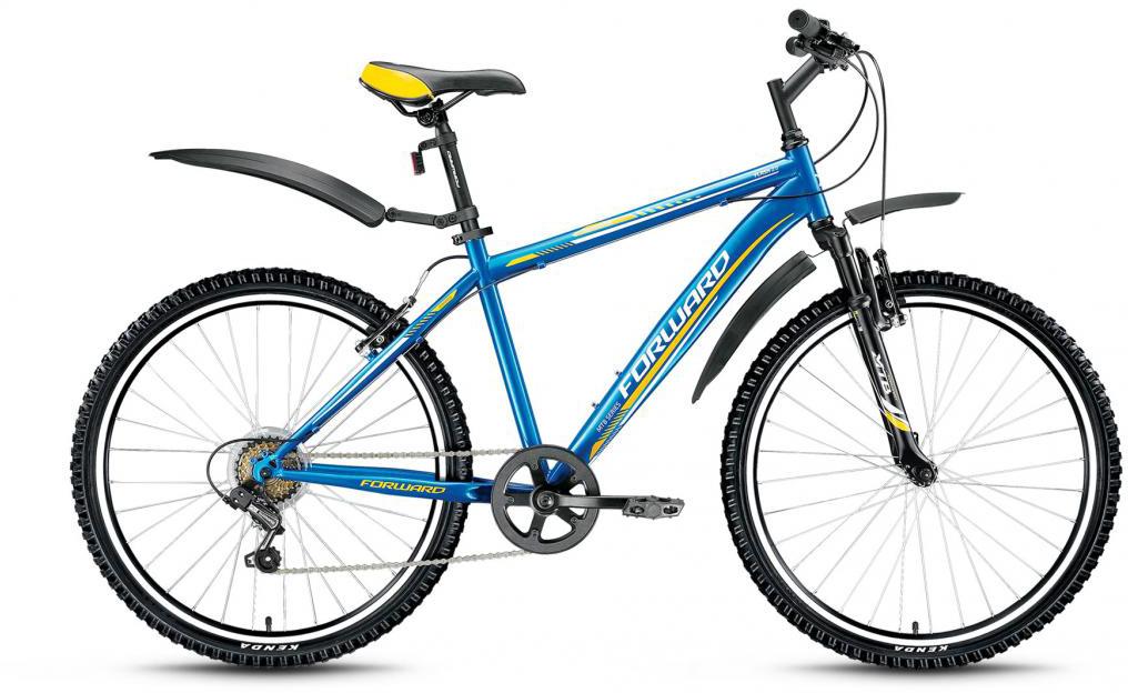 Велосипед горный Forward Flash 2.0 2016, цвет: синий, рама 17,5, колесо 26275243