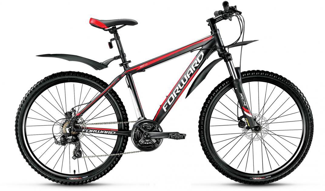 Велосипед горный Forward Next 2.0 2016, цвет: черный, рама 17, колесо 26275244