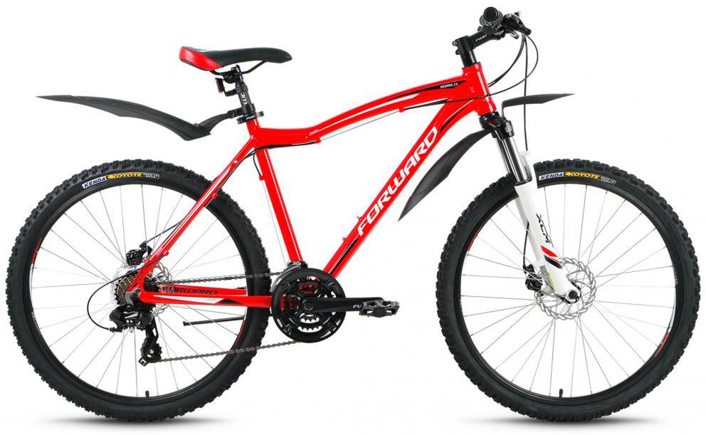 Велосипед горный Forward Hesper 2.0 2016, цвет: красный, рама 19, колесо 26275254