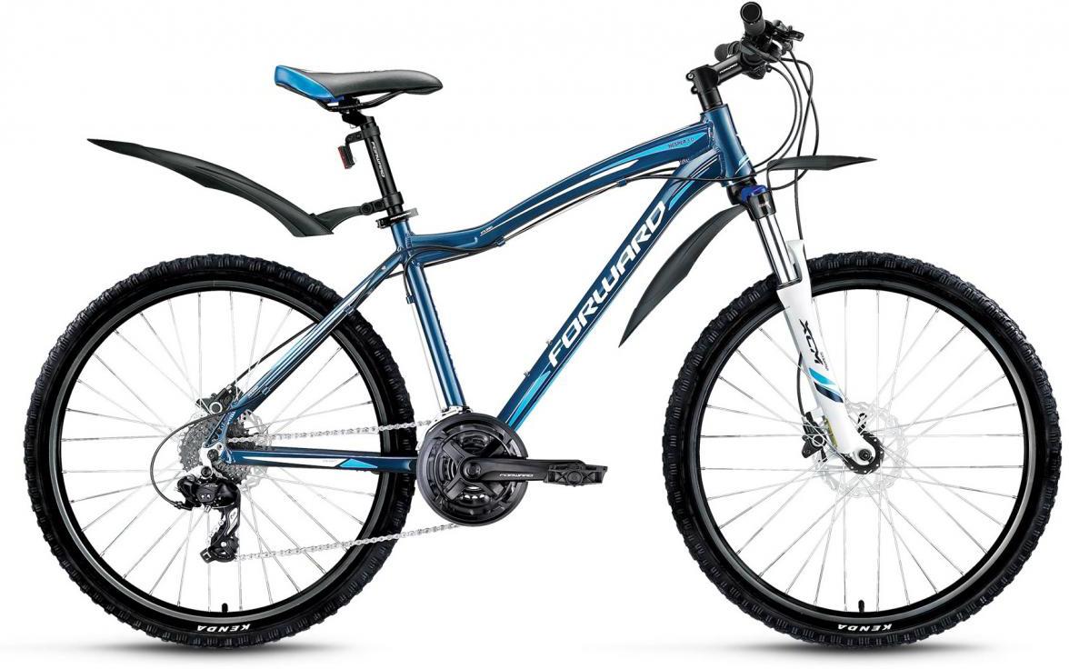 Велосипед горный Forward Hesper 3.0 2016, цвет: синий, рама 19, колесо 26275269