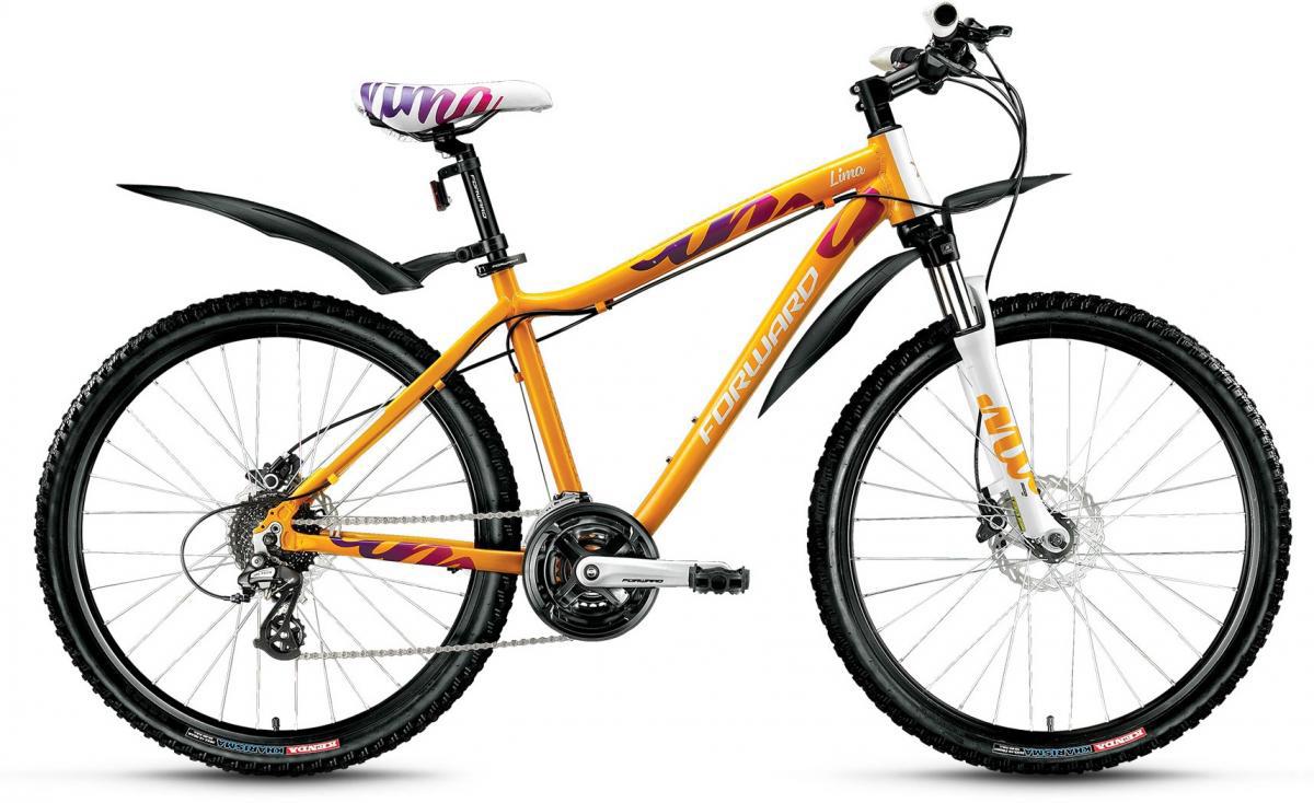 Велосипед горный Forward Lima 3.0 2016, цвет: желтый, рама 17, колесо 26275290