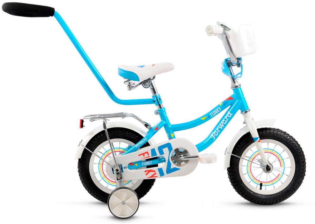 Велосипед детский Forward Funky 2016, цвет: голубой, колесо 12275295