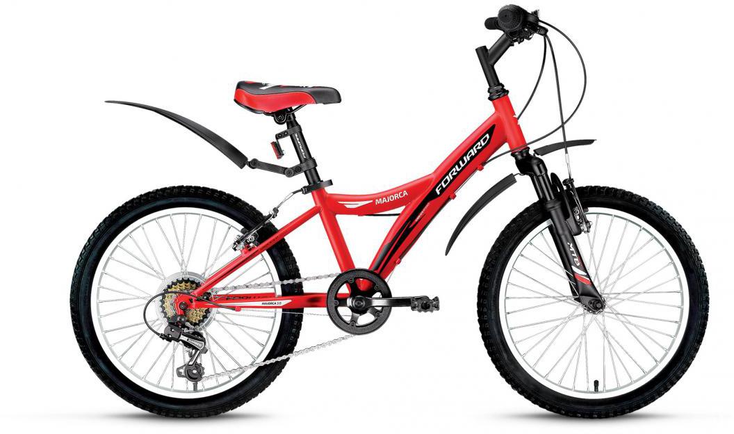 Велосипед детский Forward Majorca 3.0 2016, цвет: красный, рама 10,5, колесо 20275300