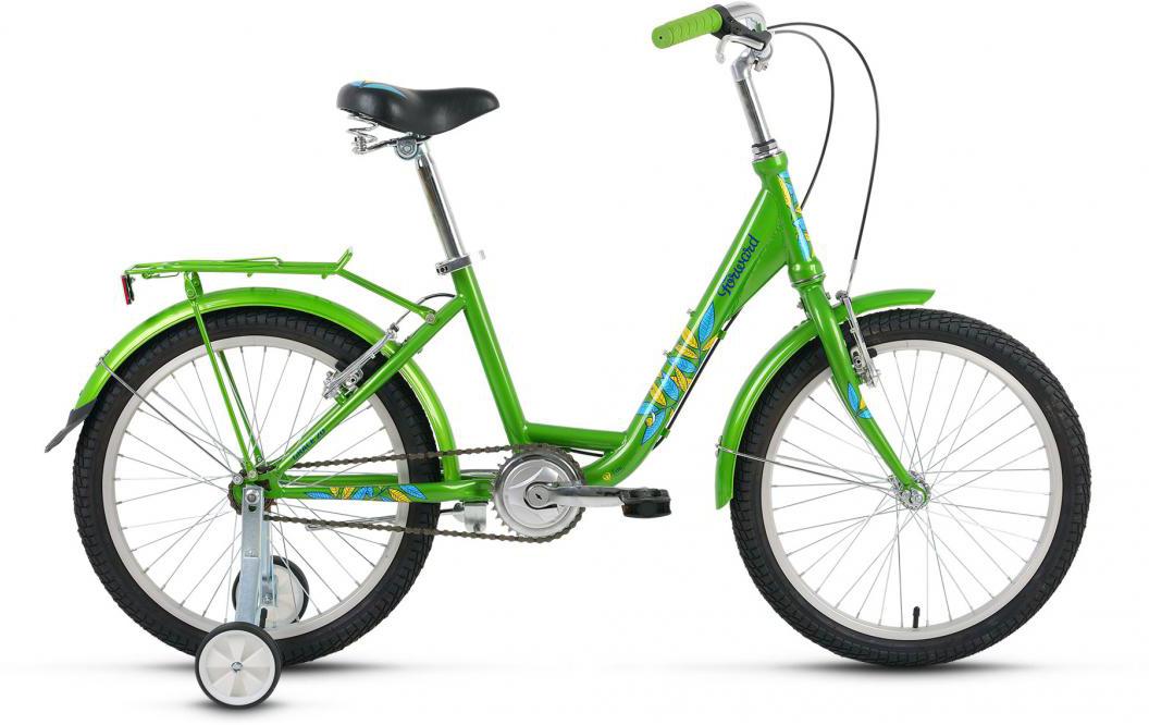 Велосипед детский Forward Grace 2016, цвет: зеленый, рама 13, колесо 20 велосипед forward grace 20 20 2016