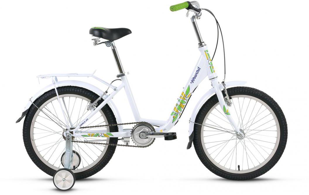 Велосипед детский Forward Grace 2016, цвет: белый, рама 13, колесо 20 велосипед forward grace 20 20 2016