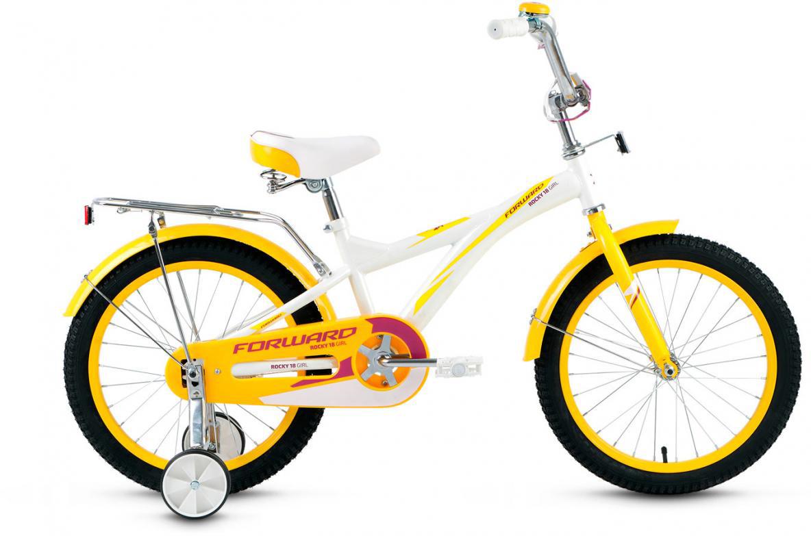 Велосипед детский Forward Rocky Girl 2016, цвет: белый, колесо 18275312