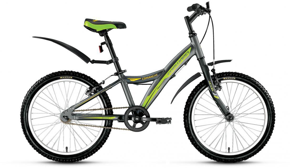 Велосипед детский Forward Comanche 1.0 2016, цвет: серый, рама 10,5, колесо 20 catherine anderson comanche magic
