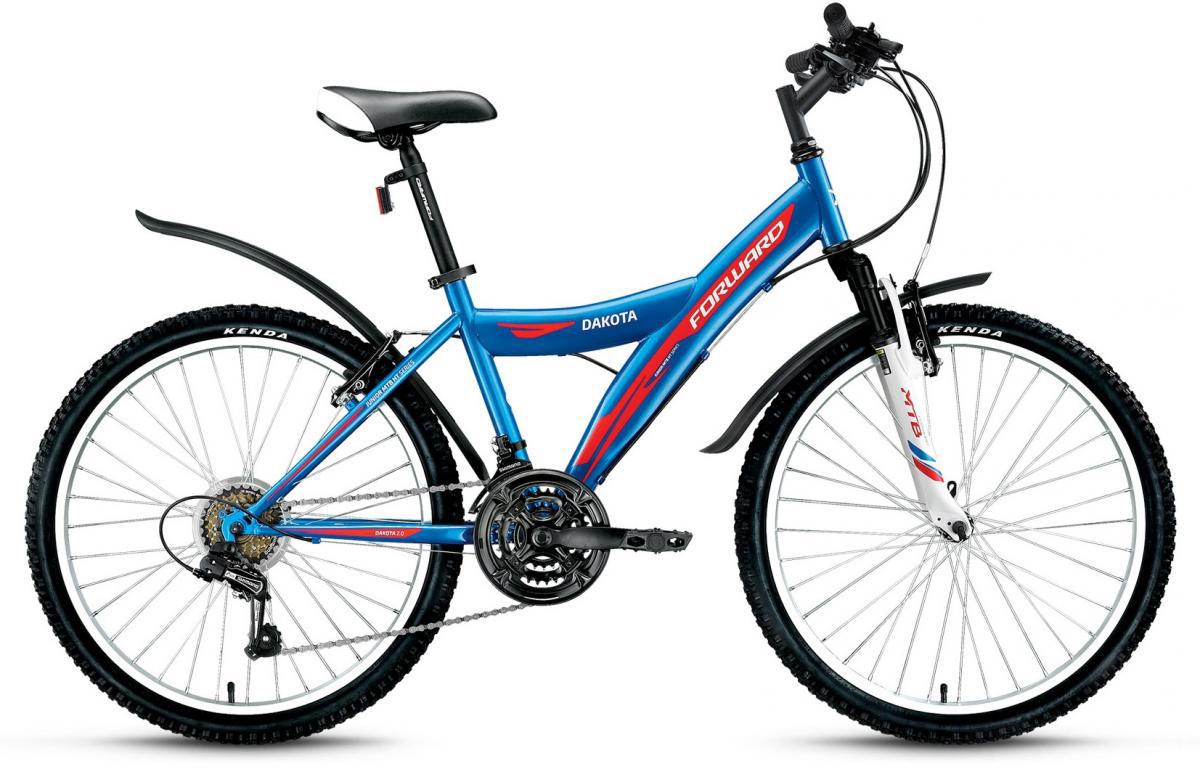 Велосипед детский Forward Dakota 2.0 2016, цвет: синий, рама 15, колесо 24275344