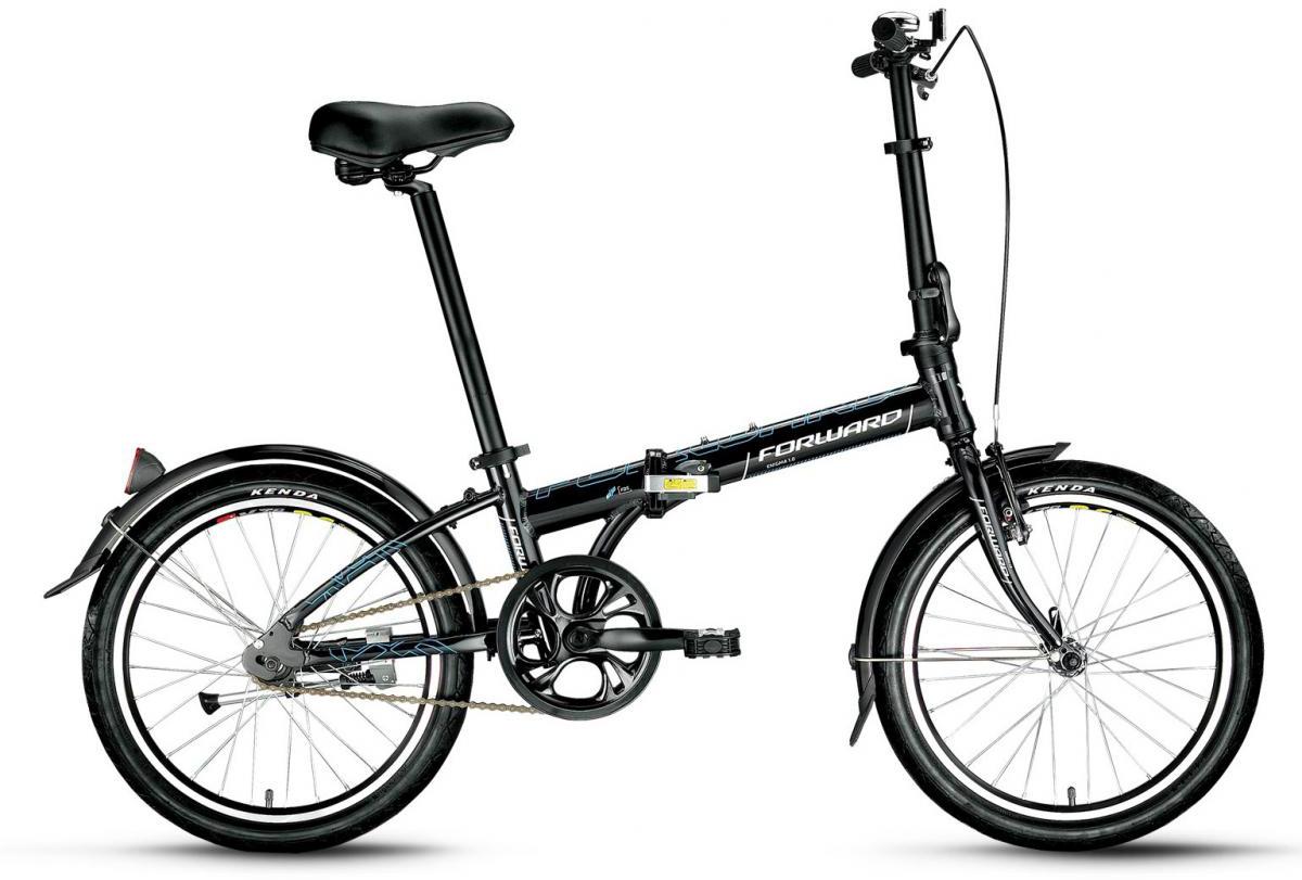 Велосипед детский Forward Enigma 1.0 2016, цвет: черный, рама 11, колесо 20275346